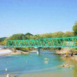 架け替えられた水郡線・第6久慈川橋梁
