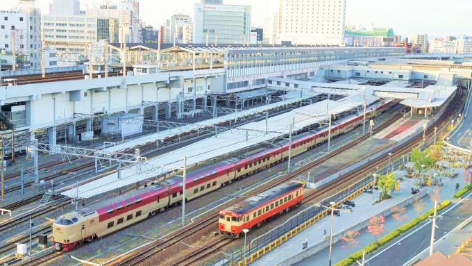 現在の岡山駅付近