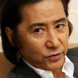 映画「ラストラブ」に出演 インタビューに答える俳優の田村正和さん=2007年5月16日午前、大阪市北区中之島のリーガロイヤルホテル 写真提供:産経新聞社