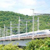 N700A新幹線電車「のぞみ」、山陽新幹線・岡山~相生間
