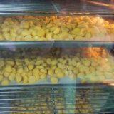 栗おこわ弁当の製造風景