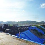 2018年の西日本豪雨 岡山県真備町 小田川の決壊現場