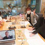 大和田美帆、天野ひろゆき、宮島咲良、PCの画面に宮本亞門