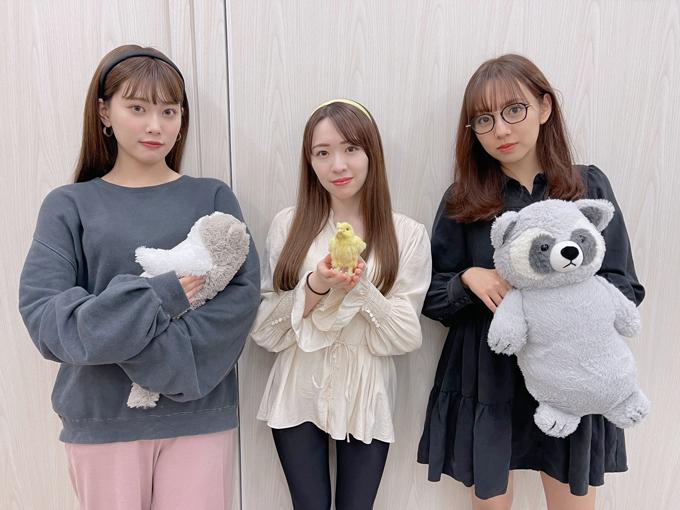 乃木坂46伊藤純奈、渡辺みり愛、新内眞衣