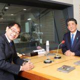 飯田浩司アナウンサー、安倍晋三前総理大臣