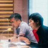 (左から)蟹江憲史氏、滝沢秀一氏