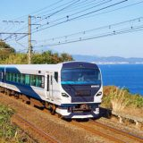 E257系電車・特急「踊り子」、東海道本線・根府川~真鶴間
