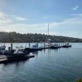 サンディエゴ・ハーバーポリスドックに無事に接岸したKaorinV(カオリンファイブ)号