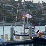 アメリカ・サンディエゴに到着したKaorinV号