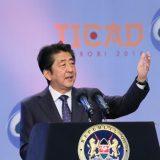 2016年8月27日、開会セッションで基調演説する安倍総理~出典:首相官邸HPより(https://www.kantei.go.jp/jp/97_abe/actions/201608/27ticad.html)