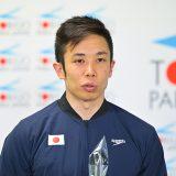 富田宇宙選手(写真提供:JPSF・JSFP)