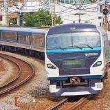 E257系電車・特急「踊り子」、東海道本線・戸塚~大船間