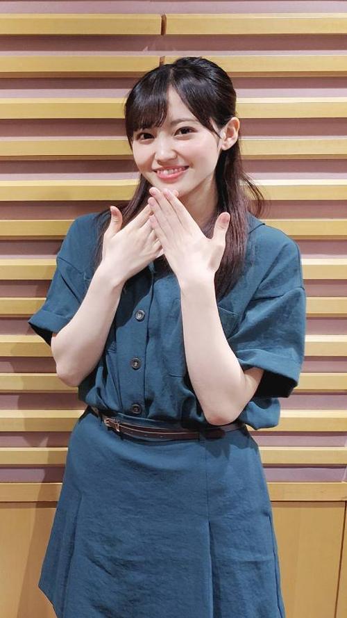 櫻坂46 松田里奈 ※2020年9月13日放送分収録時の写真