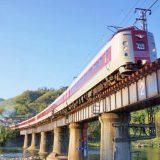 381系電車・特急「やくも」、伯備線・備中川面~木野山間
