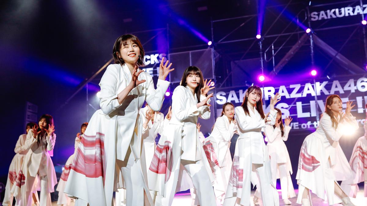 櫻坂46、フォーメーション3列目メンバーによるライブ『BACKS LIVE!!』終幕!