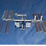 国際宇宙ステーション(NASA・JAXA提供)
