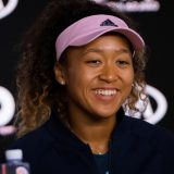 Naomi Osaka of Japan talks to the media after winning the final match at the 2019 Australian Open Grand Slam tennis tournament on January 26, 2019 at Melbourne Park in Melbourne, Australia – Photo Rob Prange / Spain DPPI / DPPI 提供時事通信