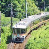 373系電車・特急「ふじかわ」、身延線・稲子~十島間