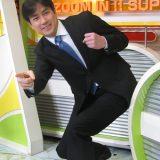 2011年3月末に日本テレビを退社し、フリーに転身する羽鳥慎一の発表会見 撮影日:2011年01月27日  撮影場所:東京都 汐留 写真提供:産経新聞社