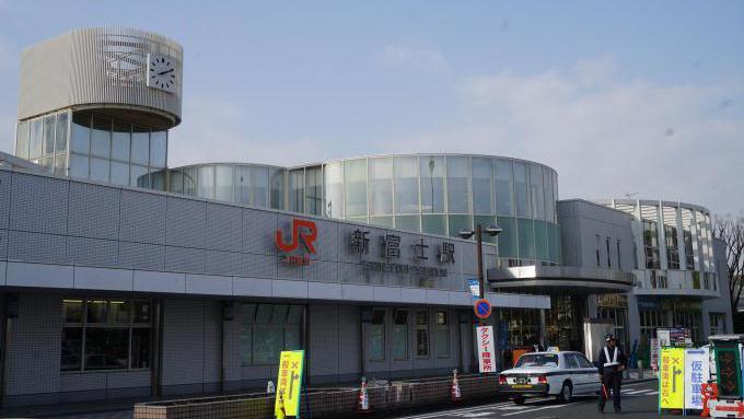 東海道新幹線・新富士駅