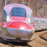 E6系新幹線電車「こまち」、奥羽本線・羽後境~大張野間