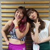フワちゃんと指原莉乃(2021年6月16日生放送時写真より)