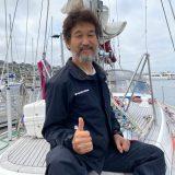 """辛坊治郎 ヨット太平洋横断""""日本への帰り""""復路航海中"""