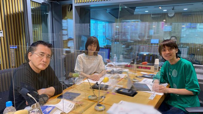 本橋信宏、増山さやかアナウンサー、吉田尚記アナウンサー
