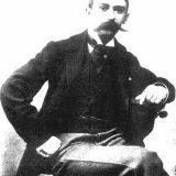 ピエール・クーベルタン男爵 Baron Pierre de Coubertin, photo made around 1900.