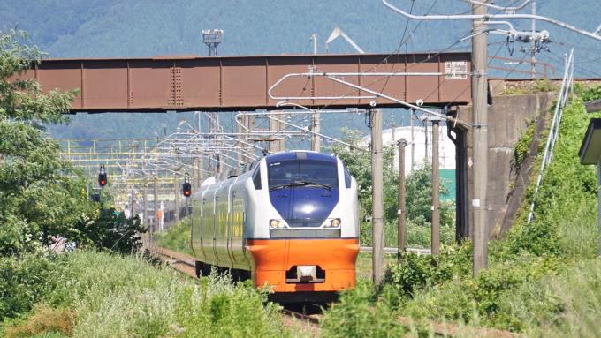 E751系電車・特急「つがる」、奥羽本線・大館~下川沿間