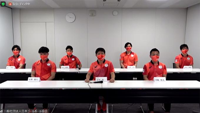 ゴールボール男子日本代表
