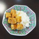 麻婆高野豆腐丼、完成!