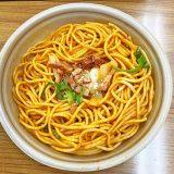 コンビニで購入したナポリタン 日本のスパゲティの定番の1つ