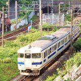 関門トンネルを走る415系電車・普通列車、山陽本線・門司~下関間
