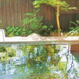 星野リゾート 界 長門・特別室の露天風呂