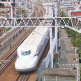 N700S新幹線電車「のぞみ」、山陽新幹線・新大阪~新神戸間