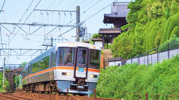 373系電車・特急「ふじかわ」、東海道本線・清水~興津間