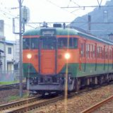 113系電車・普通列車、東海道本線・由比駅(2006年撮影)