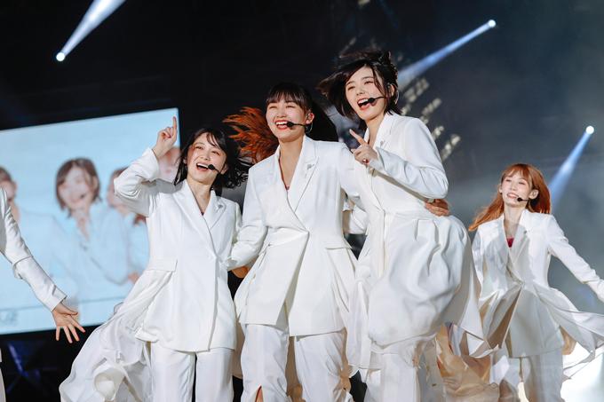 櫻坂46 ~『W-KEYAKI FES.2021 DAY-3』カメラ:上山陽介 (C)Seed & Flower LLC