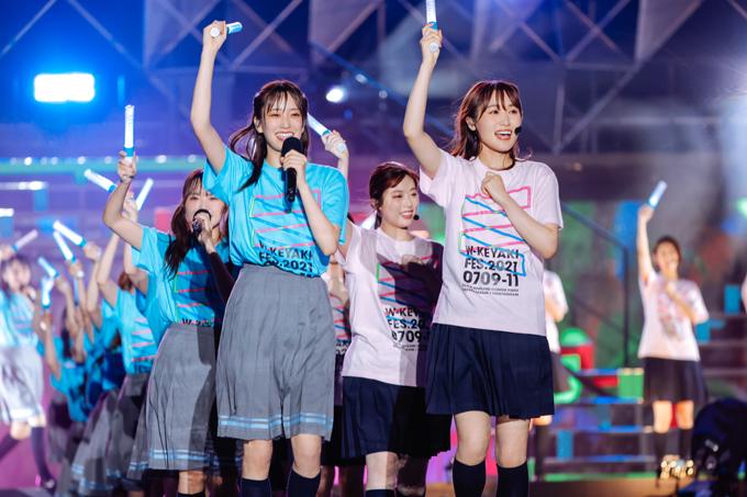 「W-KEYAKIZAKAの唄」 ~『W-KEYAKI FES.2021 DAY-3』カメラ:上山陽介 (C)Seed & Flower LLC