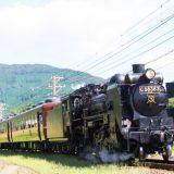 C58形蒸気機関車+12系客車「SLパレオエクスプレス」、秩父鉄道・樋口~野上間