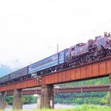 C11形蒸気機関車+旧型客車・急行「かわね路」、大井川鐵道大井川本線・青部~崎平間