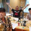 サンドウィッチマン・富澤たけし、伊達みきお / 東島衣里アナウンサー(ニッポン放送)