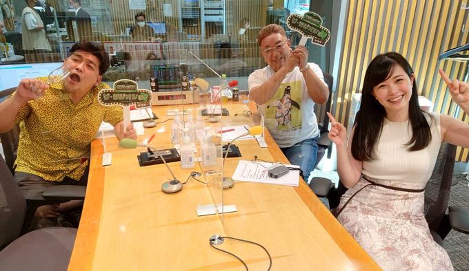 サンドウィッチマン・富澤たけし、伊達みきお、ニッポン放送・東島衣里アナウンサー