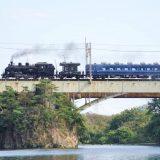 C11形蒸気機関車+14系客車「SL大樹」、東武鬼怒川線・大桑~新高徳間