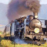C57形蒸気機関車+12系客車・快速「SLばんえつ物語」、磐越西線・喜多方~山都間